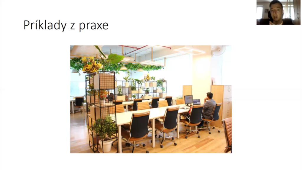 Ukázka ze záznamu webináře  Coworkingy